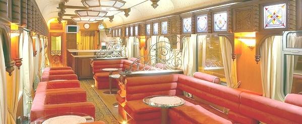 Zarengold-Sonderzug für eine exklusive und komfortable Reise mit der Transsibirischen Eisenbahn